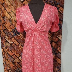 Top shop pink dress